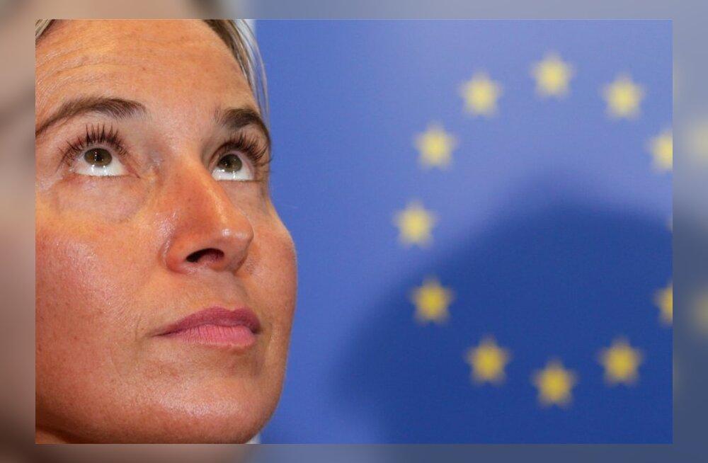Belgium EU Mogherini