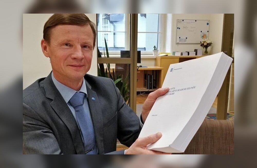 Aivar Sõerd riigieelarve seletuskirjaga