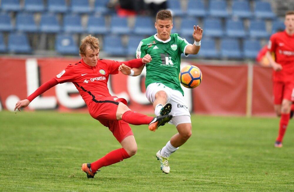 jalgpall Narva Trans vs Levadia Tallinn 30.05.17