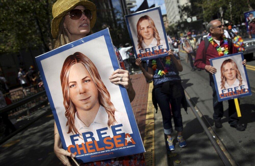 Barack Obama võttis vahetult enne ametist lahkumist kuulda üleskutsed vabastada praegu Chelsea Manningu nime kandev vilepuhujast sõjaväelane.
