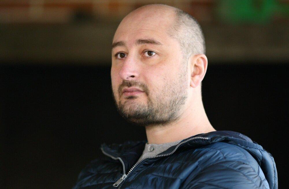 Kiievis tapetud Vene ajakirjanik Babtšenko: naasen Moskvasse NATO tankil