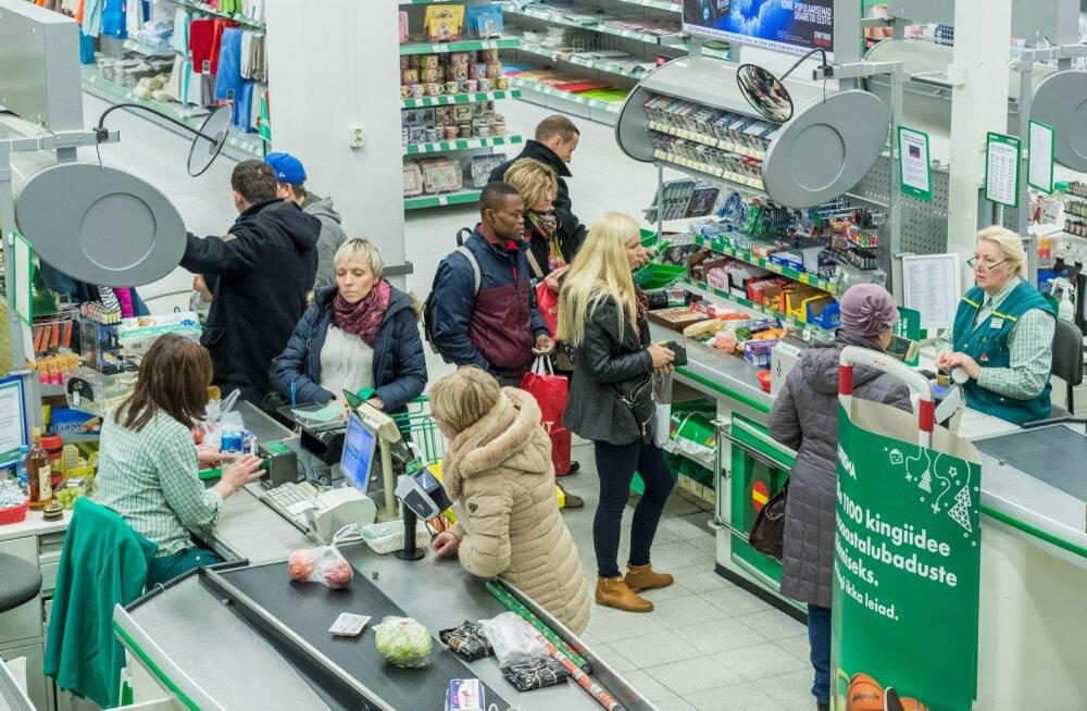 Kaubandus on jätkuvalt üks suurema vabade töökohtade arvuga sektoreid Eestis.