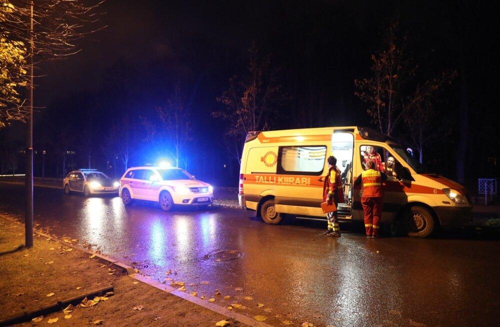 Возле найденного вчера в Кадриорге трупа женщины валялись белые таблетки