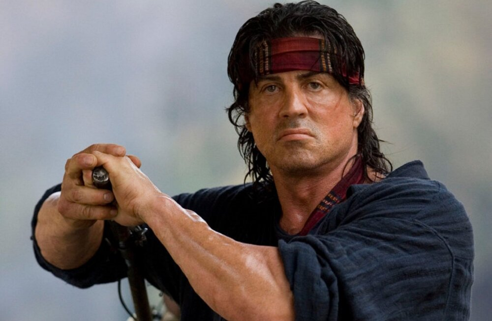 Sylvester Stallone naaseb John Rambo rolli