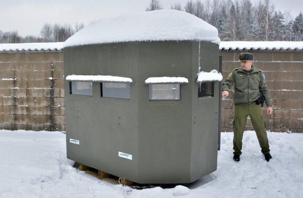 Piirivalve uus patrullmajake kagupiiril.