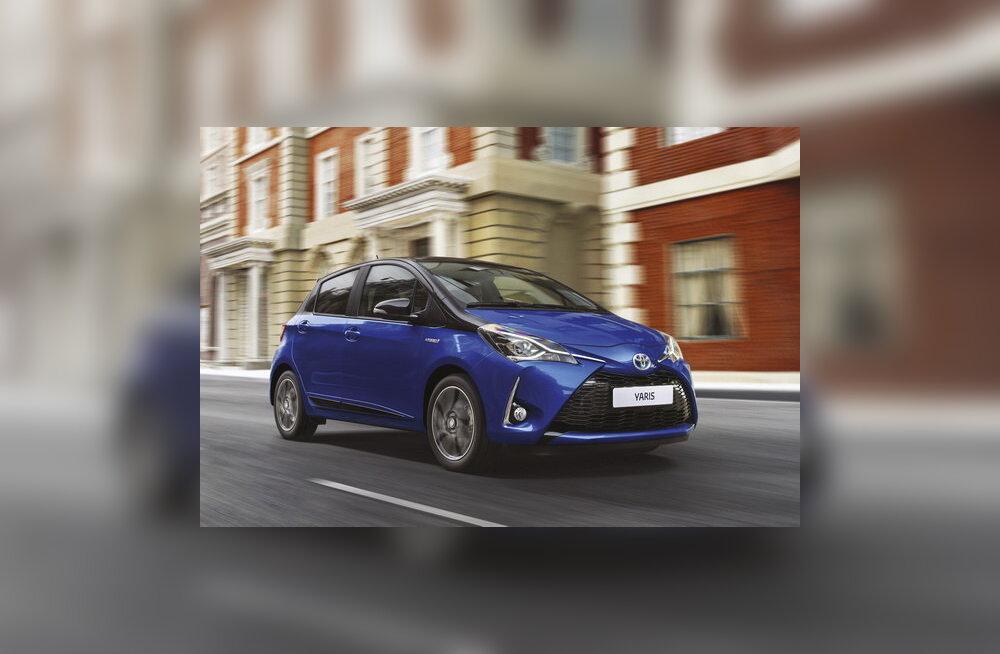 Uuendatud Toyota Yaris: hübriidajamiga isend on linnaliikluses mugav