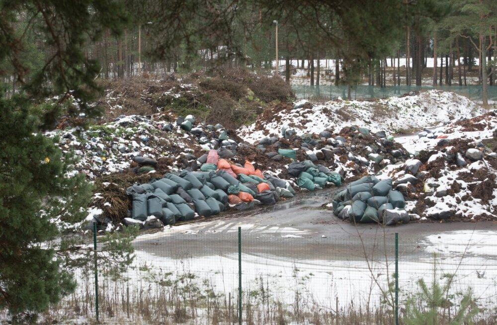 Radari alla jäävad jäätmekäitlusäri rikkumised