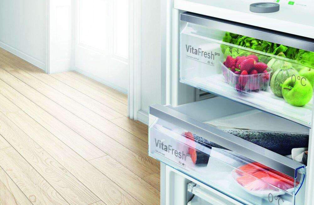 Miks tuleb hoida toiduaineid selleks ettenähtud külmiku tsoonides?