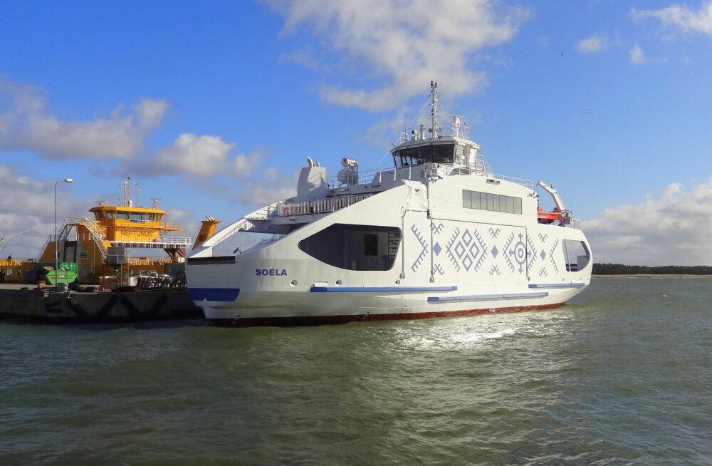 Täna jõuab Sõru-Triigi liinile uhiuus parvlaev Soela