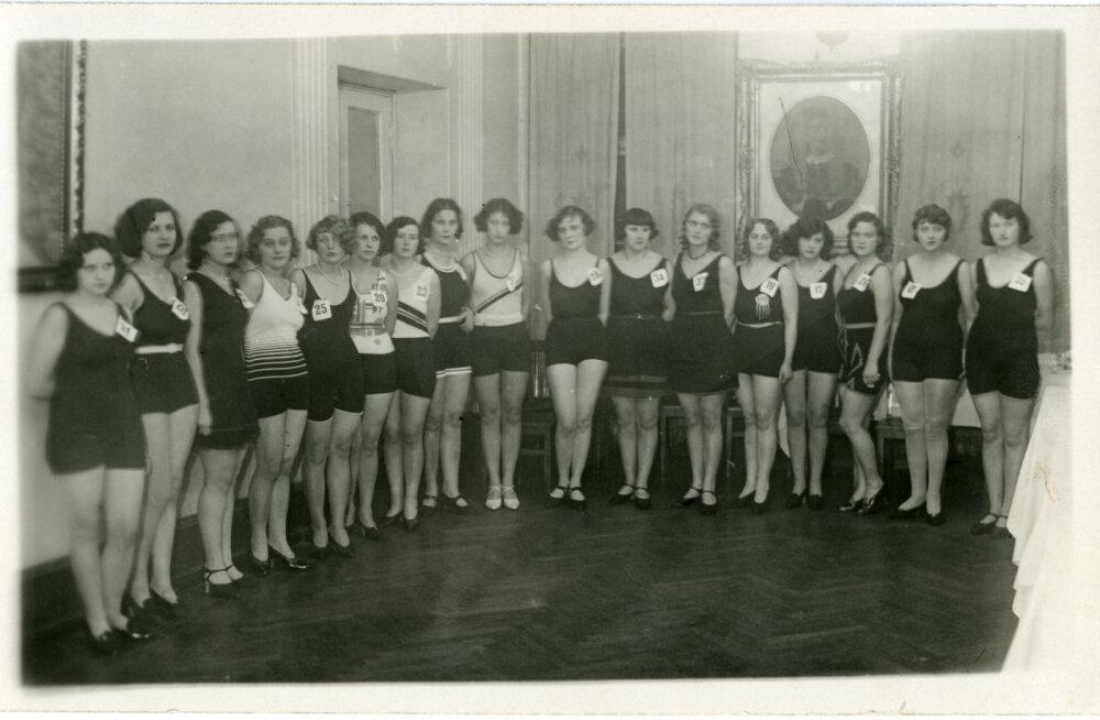 FOTOD JA ÜLEVAADE: Kuidas valiti Eestis iluduskuningannasid 85 aastat tagasi ja kes krooniti kõige kaunimaks?