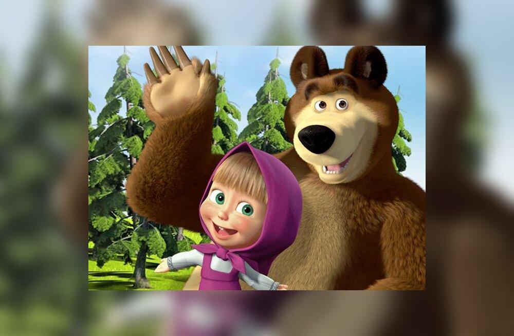 Маша и медведь смотреть бесплатно все серии секс