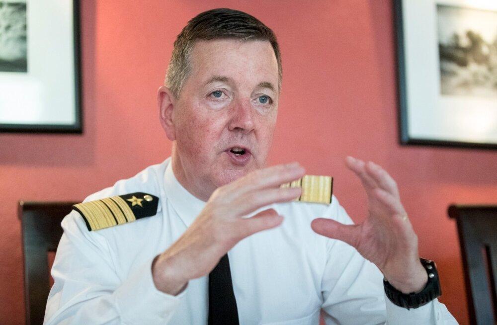 Viitseadmiral Mark Mellett leiab, et kaitseväe koosseis peaks olema ühiskonna peegeldus.