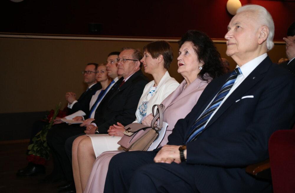 Peaminister Ratas: Arnold Rüütel on mulle eeskujuks elus ja poliitikas