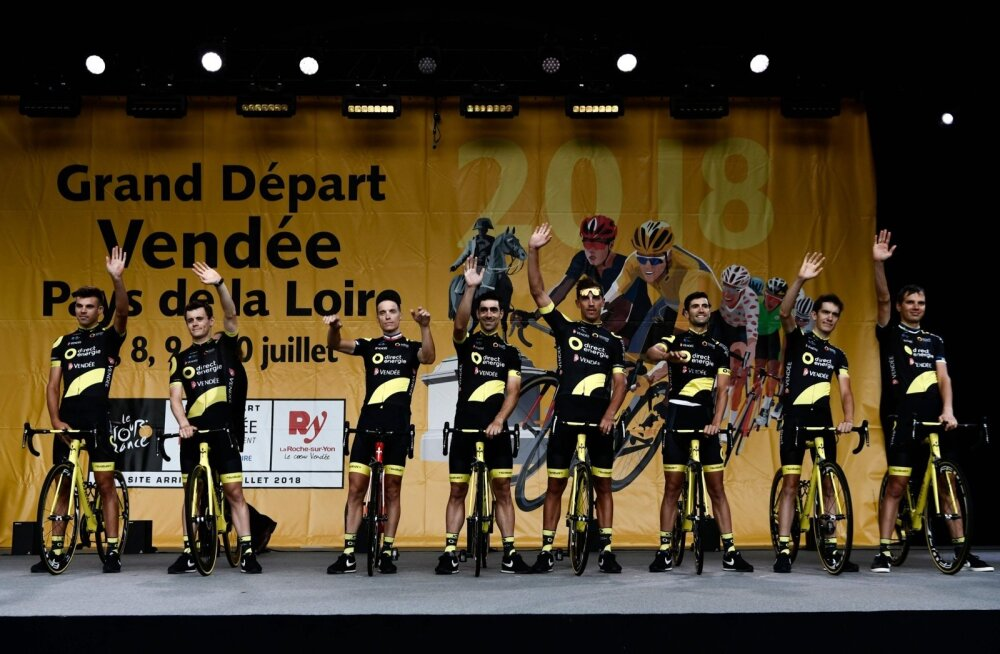 Tour de France´i avamine, Direct Energie meeskond