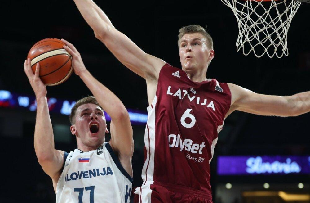 Korvpall Sloveenia - Läti
