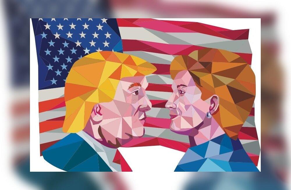 USA valimiste põhiheitlus käib mõne võtmeosariigi pärast