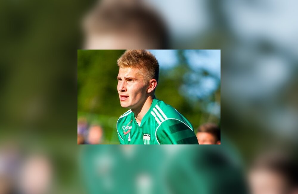 FC Levadia talent läks Inglismaale treenima