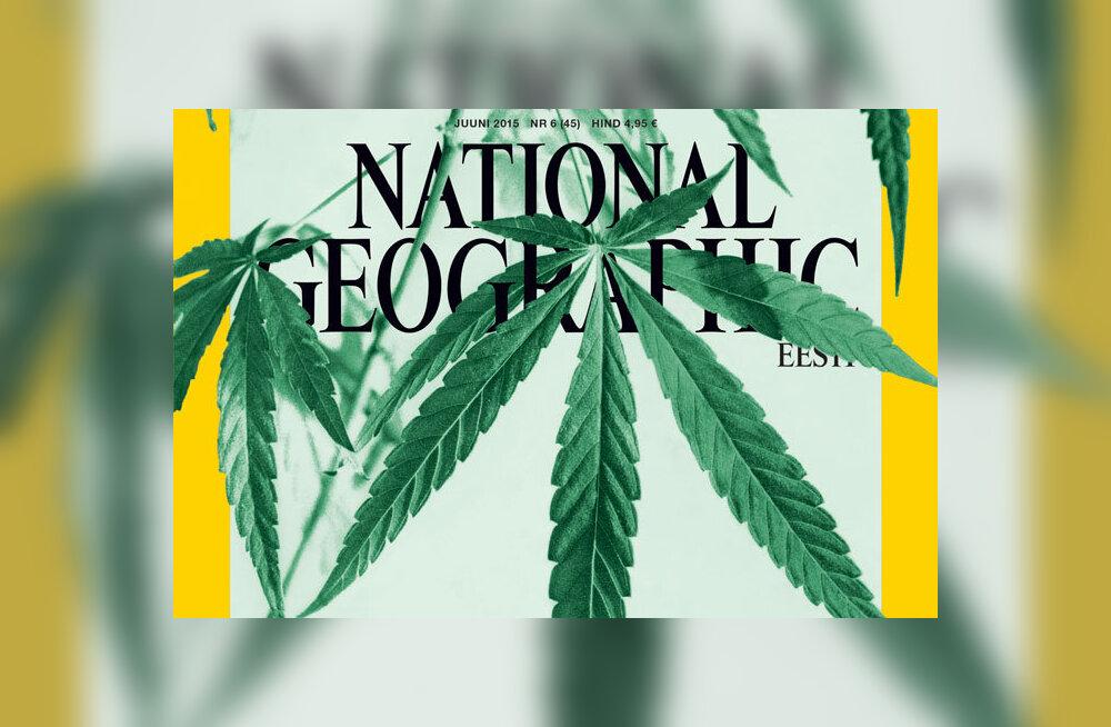 Teadus uurib kanepit: National Geographic Eesti juuninumber