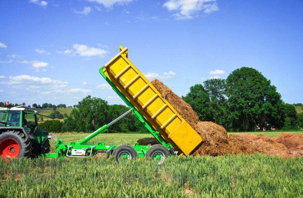 Kallurhaagise puhul on oluline, et kasti tõstesilinder asuks võimalikult ees – nõnda on tõstejõud suurem ja kallutav haagis püsib stabiilsemalt paigal.