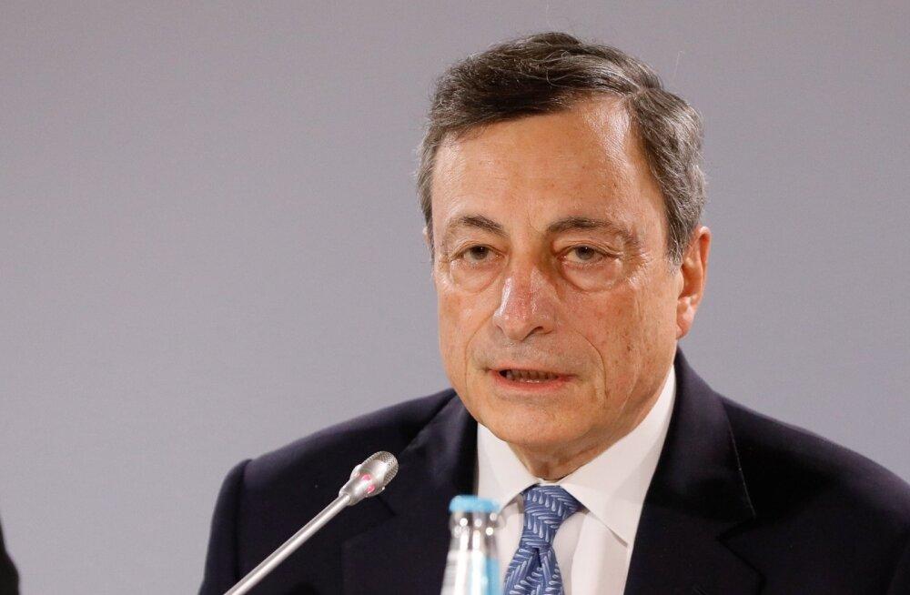 Euroopa Keskpanga president Mario Draghi