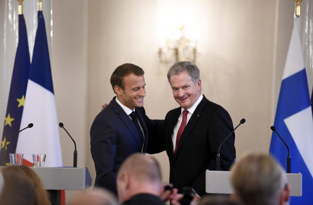 Macron, Niinistö