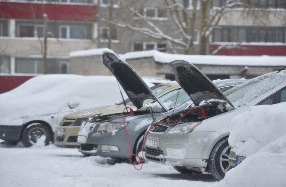 Soovitusi, kuidas pakase korral autosid ja torustikke kaitsta