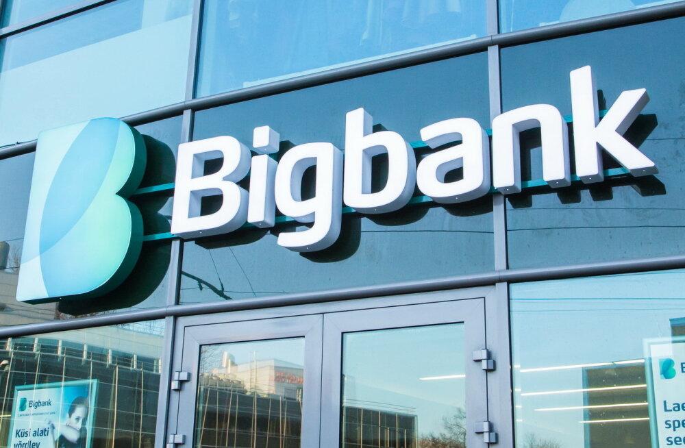 Bigbanki omanikud võtavad dividendidena välja viis miljonit eurot. Teist aastat järjest