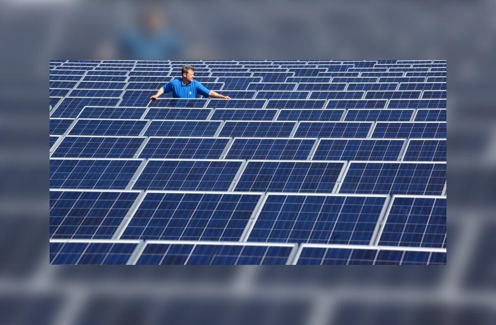 Järgmisel aastal valmib päikeseenergia Eesti testjaam