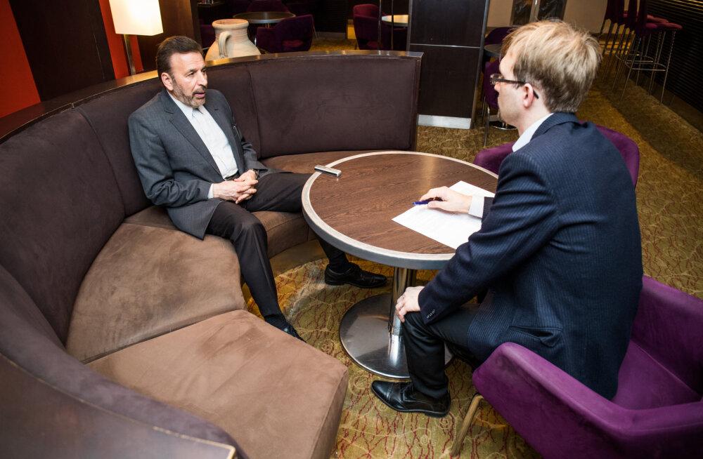 HOMSES EESTI PÄEVALEHES: Esimest korda pärast šahhi visiiti käis Eestis Iraani valitsuse liige