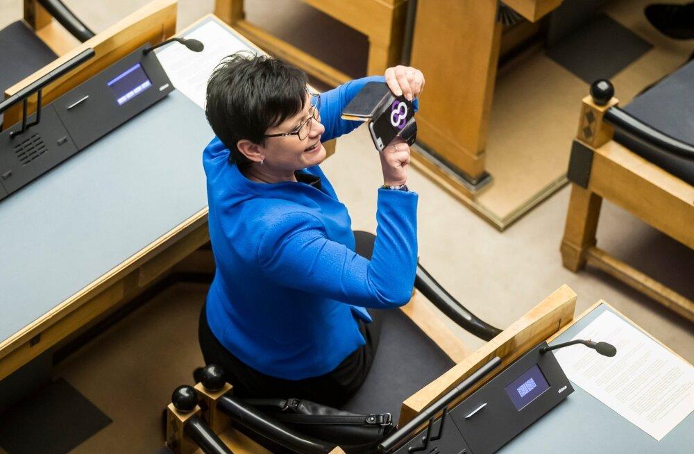 President Kersti Kaljulaidi ametisse nimetamine