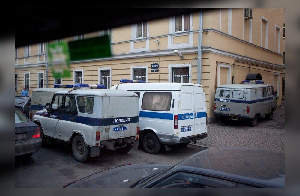 Politseiautod Sankt-Peterburis