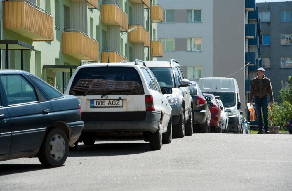 Parkimine Mustamäel