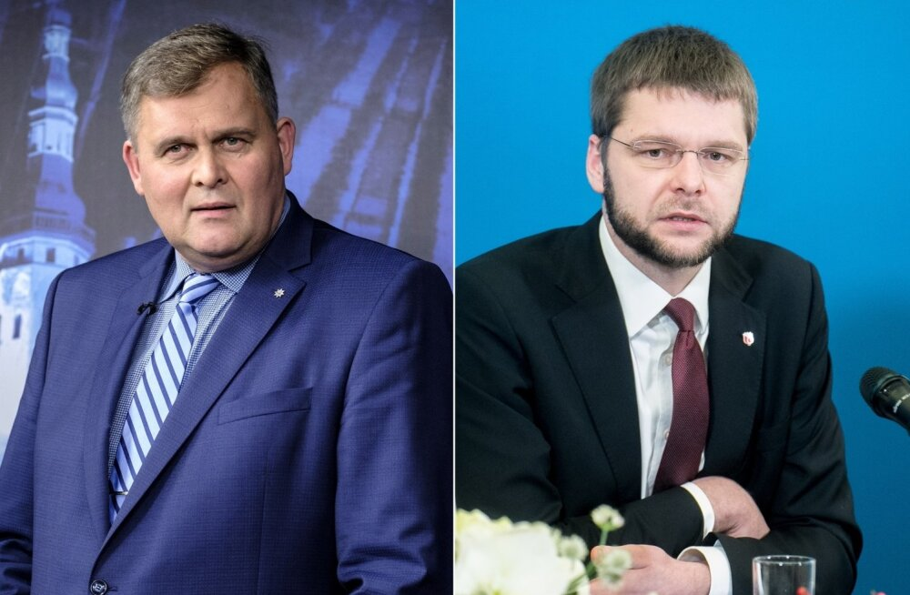 Raivo Aeg ja Jevgeni Ossinovski