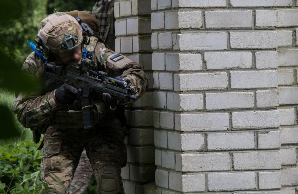 Военные учения привели в страны Балтии 2000 бойцов сил специальных операций