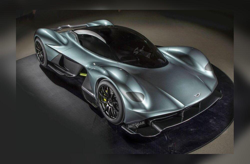 Aston Martin Valkyrie: võimsaim vabalthingava mootoriga superauto?