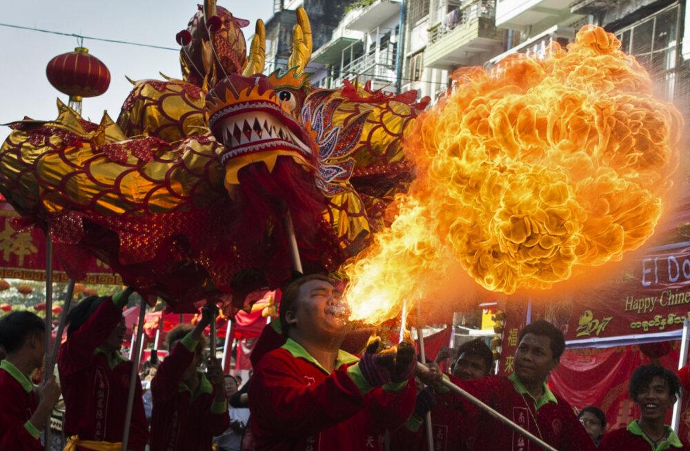 В Китае, Таиланде и странах Азии готовятся встретить Китайский Новый год
