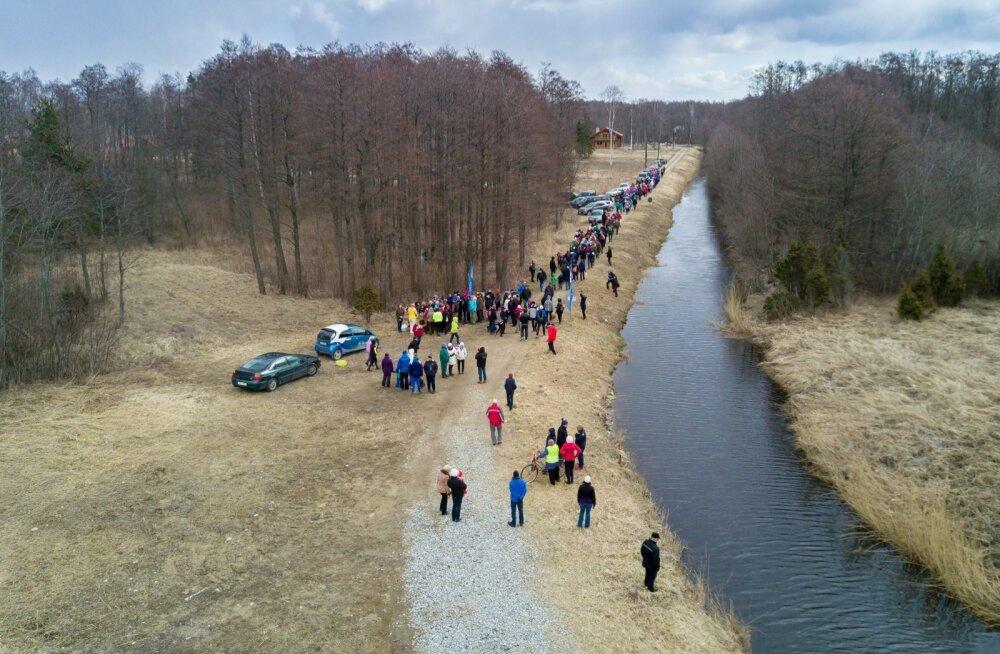 EV100 Eestimaa ühendamise aastapäev Vaiste rannas