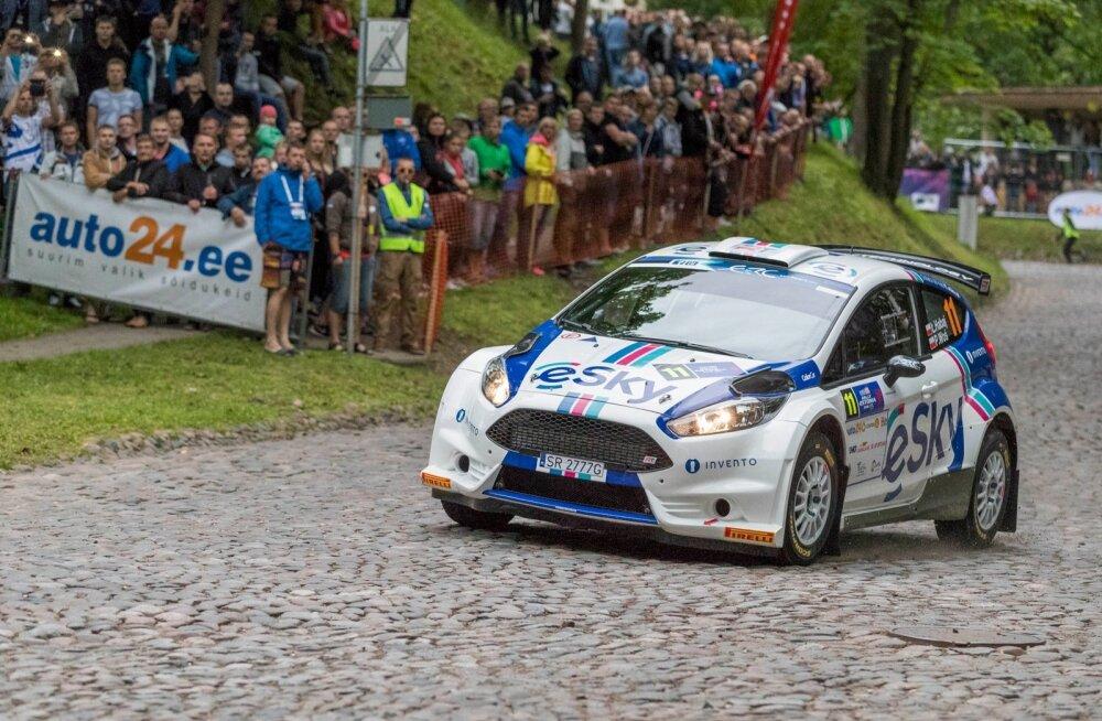 Eelmisel Rally Estonial oli publiku magnetiks Tartu linnas korraldatud kiiruskatse.