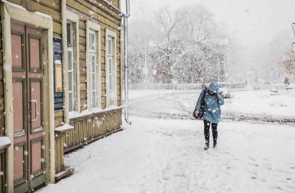 Veebruarikuu esimene nädal toob tavalise sombuse talveilma