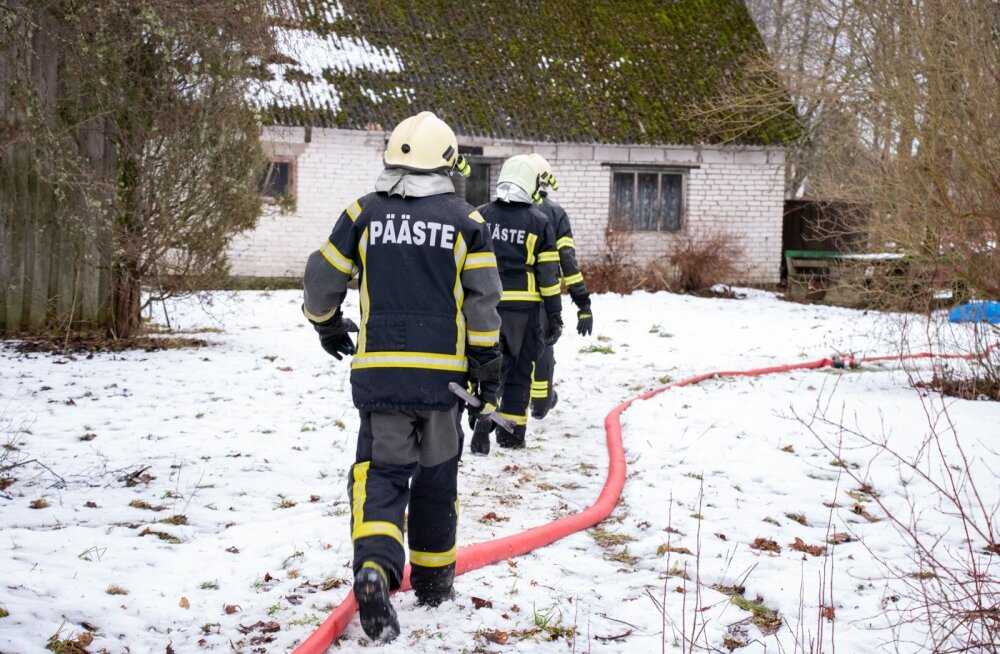 Hukkunuga tulekahju Eiklas, Saaremaal