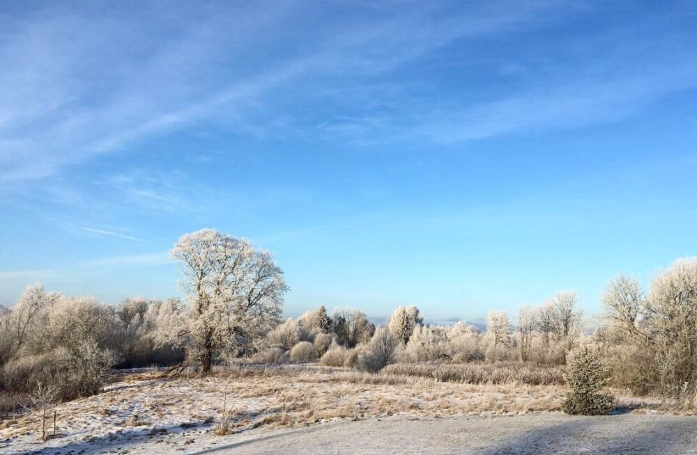 Esimese talvepäeva imelised hetked