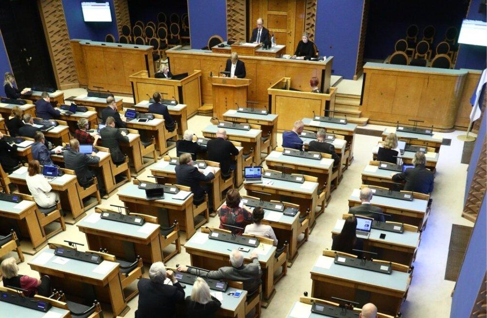 BLOGI | Raivo Aeg rahapesu tõkestamise arutelust riigikogus: sõnasõda, kes suudab oma riiki rohkem sõimata