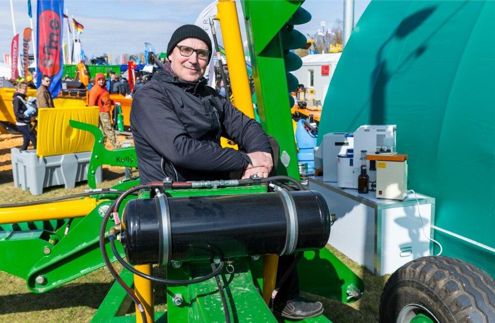 Maheklastri teraviljateema koordinaator ning maheviljakasvataja Margus Ess märgib, et maheviljelejatele sobib näiteks ketaskoorel.