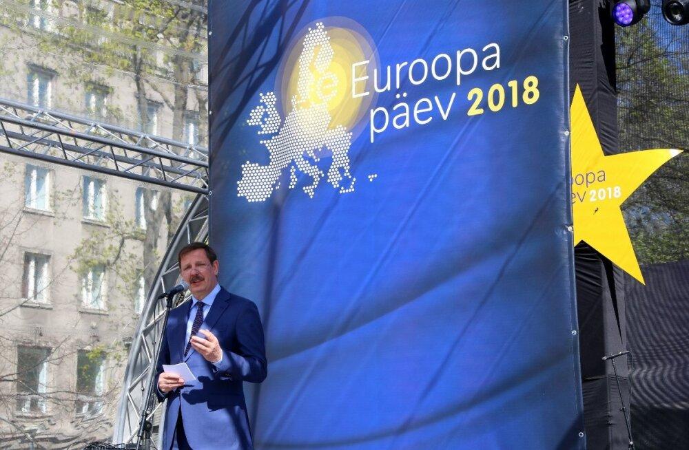Таави Аас: День Европы напоминает нам, насколько мы свободны
