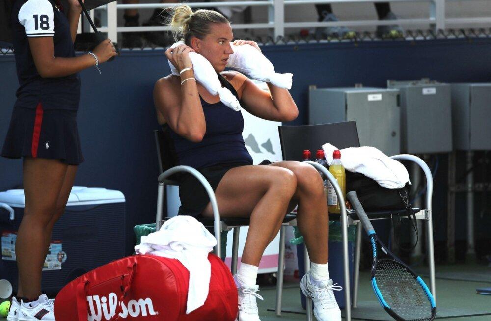 Kaia Kanepi US Openil