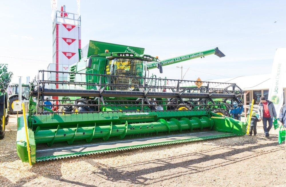 Põllutöömasinad Maamess 2017
