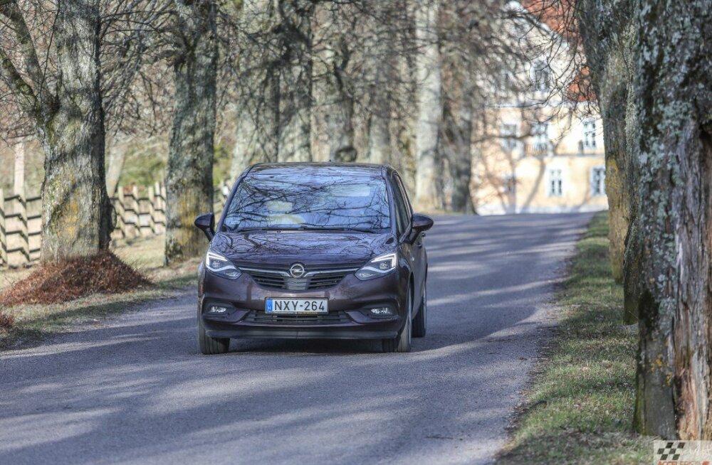 AUTOTEST: Opel Zafira – üks väheseid omanäolisi mahtureid, mis alles jäänud