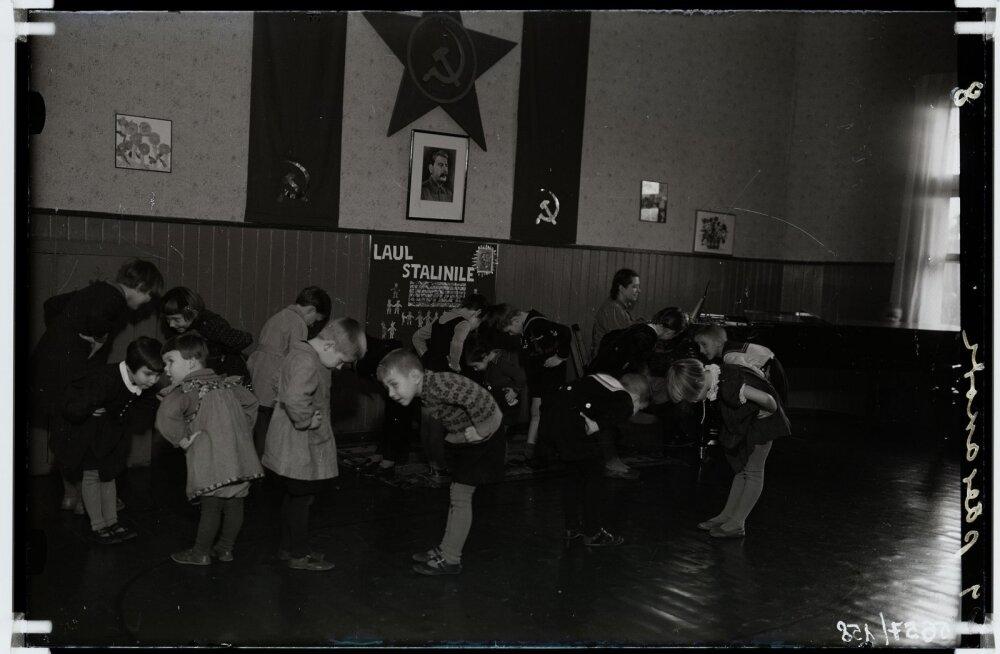 Nõukogude võim muutis lastaaiakorraldust: vanemad nägid lapsi ainult nädalavahetusel