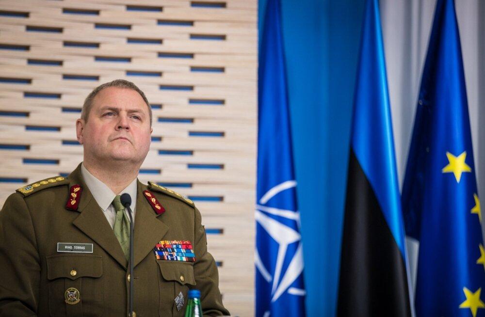 Kindral Riho Terrase ja kindral Petr Paveli pressikonverents