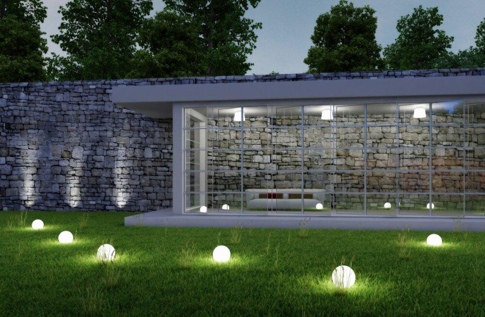 Kuidas valida ja paigaldada aiavalgustust?
